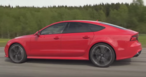 Both Stock - Audi RS7 vs Mercedes CLS63 AMG BiTurbo Performance Package 1