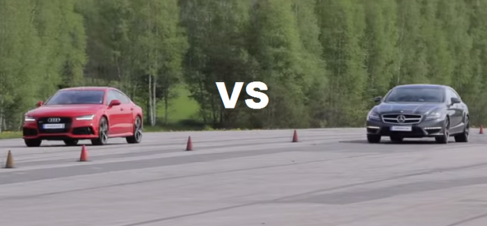 Both Stock – Audi RS7 vs Mercedes CLS63 AMG BiTurbo Performance Package – Video