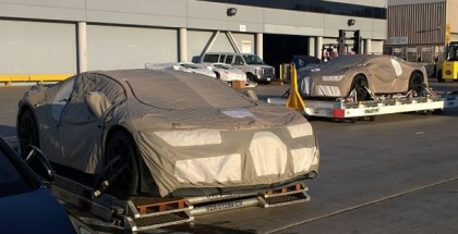 Bugatti Chiron prototype spies at LAX Los Angeles Airport (1)