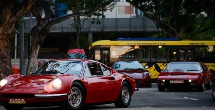 Classic Ferraris And Porsches Invade Singapore (7)