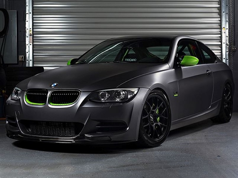 Cool Looking Bmw 335is E92 Called Ghost Chameleon