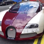 Double parked Bugatti Veyron gets a parking ticket (4)