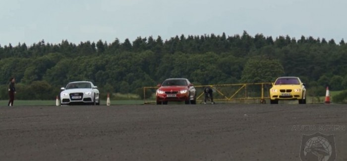 Drag Race - Audi RS5 vs BMW M4 vs BMW E92 M3 (4)