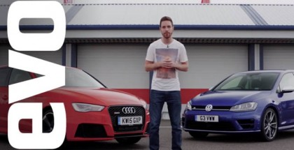 EVO Review - Audi RS3 vs Volkswagen Golf R