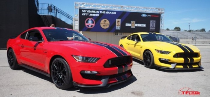 Everything you need to know about the 2016 Ford Mustang Shelby GT350 vs GT350R – Video