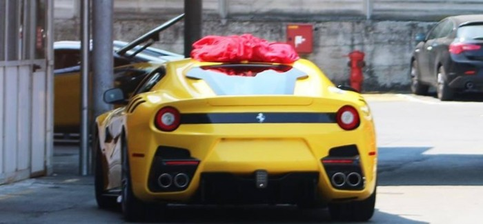 Ferrari F12 Speciale rear end spied with no camouflage