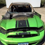 Ford Mustang Boss 302 Set on Fire by Vandals (1)
