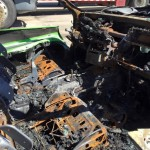 Ford Mustang Boss 302 Set on Fire by Vandals (10)