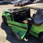 Ford Mustang Boss 302 Set on Fire by Vandals (2)