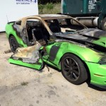 Ford Mustang Boss 302 Set on Fire by Vandals (9)