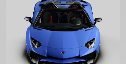 Lamborghini Aventador SV Roadster Photos Leaked (2)