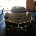 Lawyer's parking spothas a Huayra on Friday and a LaFerrari on Monday (1)