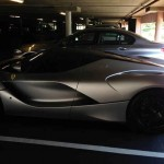 Lawyer's parking spothas a Huayra on Friday and a LaFerrari on Monday (2)