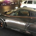 Lawyer's parking spothas a Huayra on Friday and a LaFerrari on Monday (3)