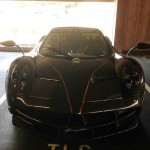 Lawyer's parking spothas a Huayra on Friday and a LaFerrari on Monday (9)