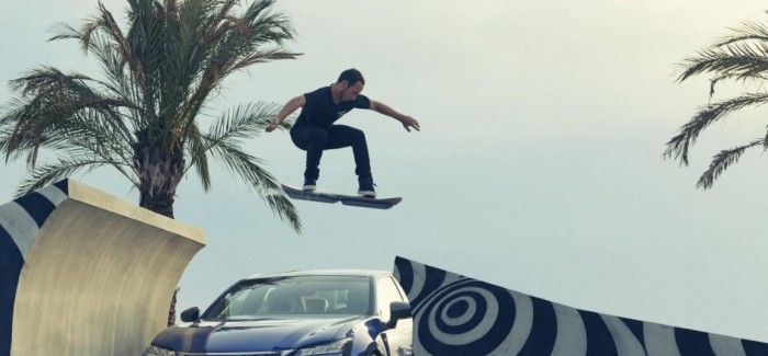 Lexus finally shows the Hoverboard video in action
