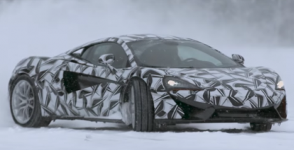 McLaren Sports Series being tested in extreme conditions