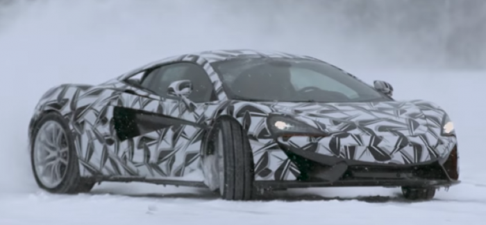 McLaren Sports Series being tested in extreme conditions – Video
