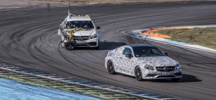 Mercedes teasing C63 AMG Coupe again