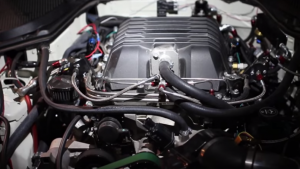 Nissan 350ZL1 with a ZL1 Supercharger LS2 V8 Swap 1