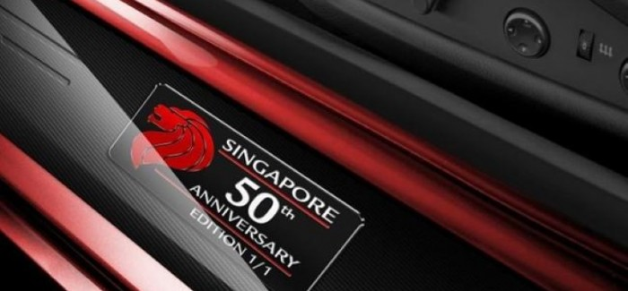 One-off Ferrari F12 for Singapore's 50th anniversary of independence