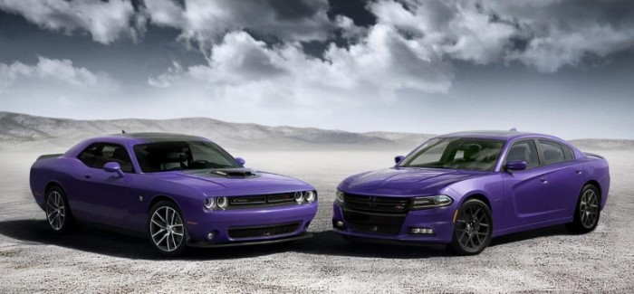 Plum Color 2016 Charger & Challenger – Official