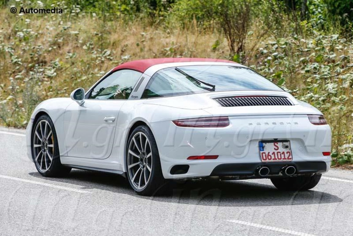 Porsche 991 targa facelift spied dpccars porsche 991 targa facelift spied 2 sciox Image collections
