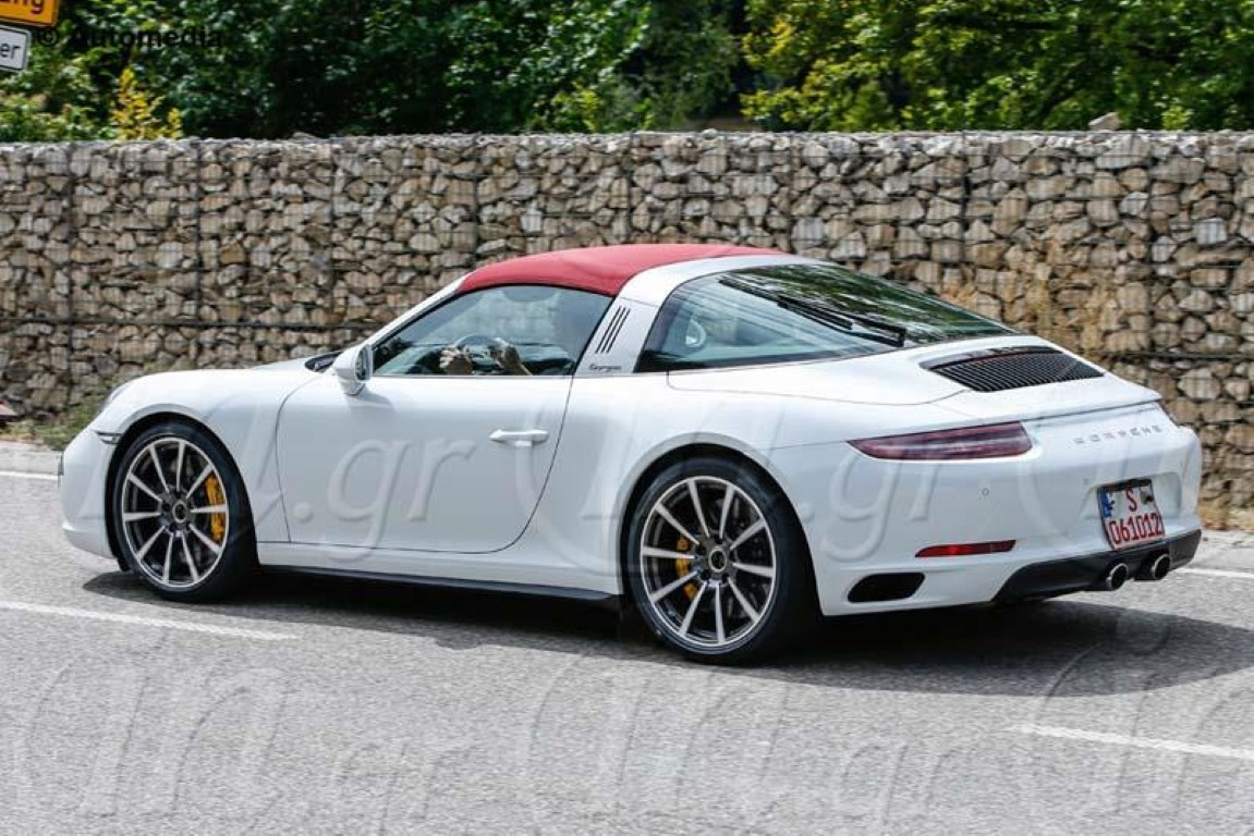 porsche 991 targa facelift spied dpccars. Black Bedroom Furniture Sets. Home Design Ideas