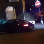 Porsche 997 Turbo crashes into a house and takes off (3)
