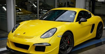 Porsche Cayman S Ruf on 20-inch ADV05 mv2 CS-Series wheels (2)
