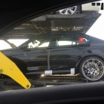 Production BMW M3 Competition Package spied On A Transport Truck (1)