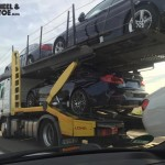 Production BMW M3 Competition Package spied On A Transport Truck (3)