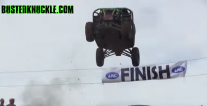 RZR Buggy Flies Through The Finish Line Like a BOSS (1)
