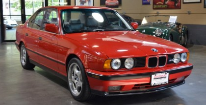 Rare Mugello Red 1991 BMW E34 M5 with only 29K miles (1)