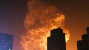 Report - Huge Explosion At Tianjin, China (1)