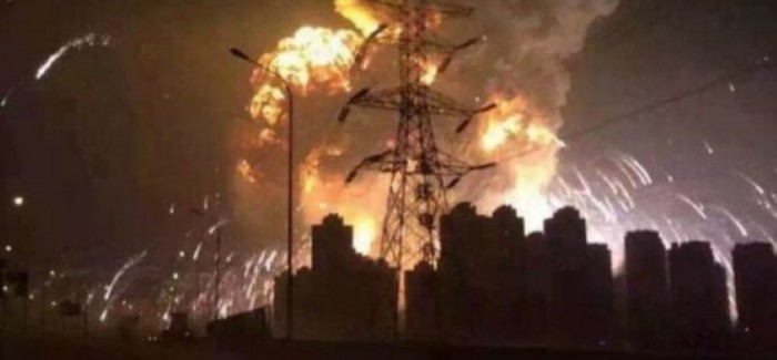 Report – Huge Explosion At Tianjin, China – Video