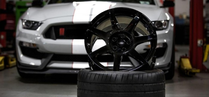 Shelby GT350R Mustang carbon fiber wheels Retail for nearly $30,000