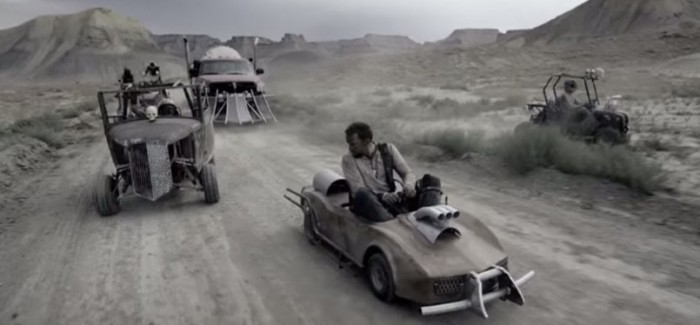 Super Spectacular Mad Max Done With Go Karts and Paintball Guns – Video