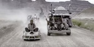 Super Spectacular Mad Max Done With Go Karts and Paintball Guns (2)