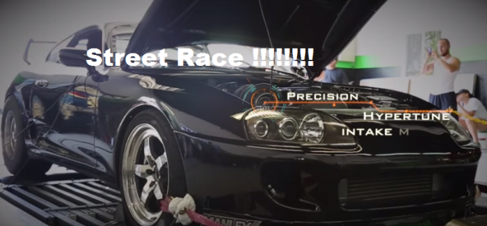 TRC Supra vs Turbo Mustang vs Big Turbo Porsche – Video