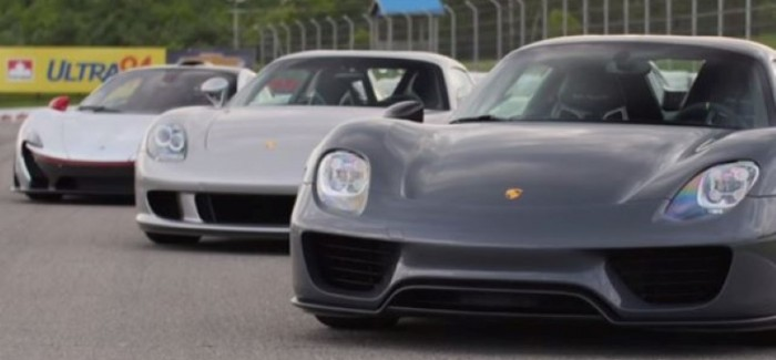 Taking Delivery Of McLaren P1, Porsche 918, Porsche Carrera GT At Same Time – Video