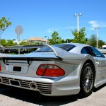 This is how you damage a super Rare Mercedes CLK GTR (1)