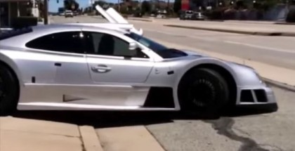 This is how you damage a super Rare Mercedes CLK GTR (3)