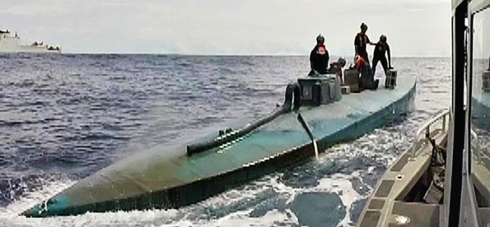US Coast Guard Captures Submarine With $181,000 In Narcotics Inside