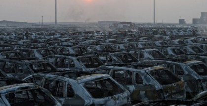 VW Lost Thousands Of Brand New Cars To The Chinese Explosion (3)