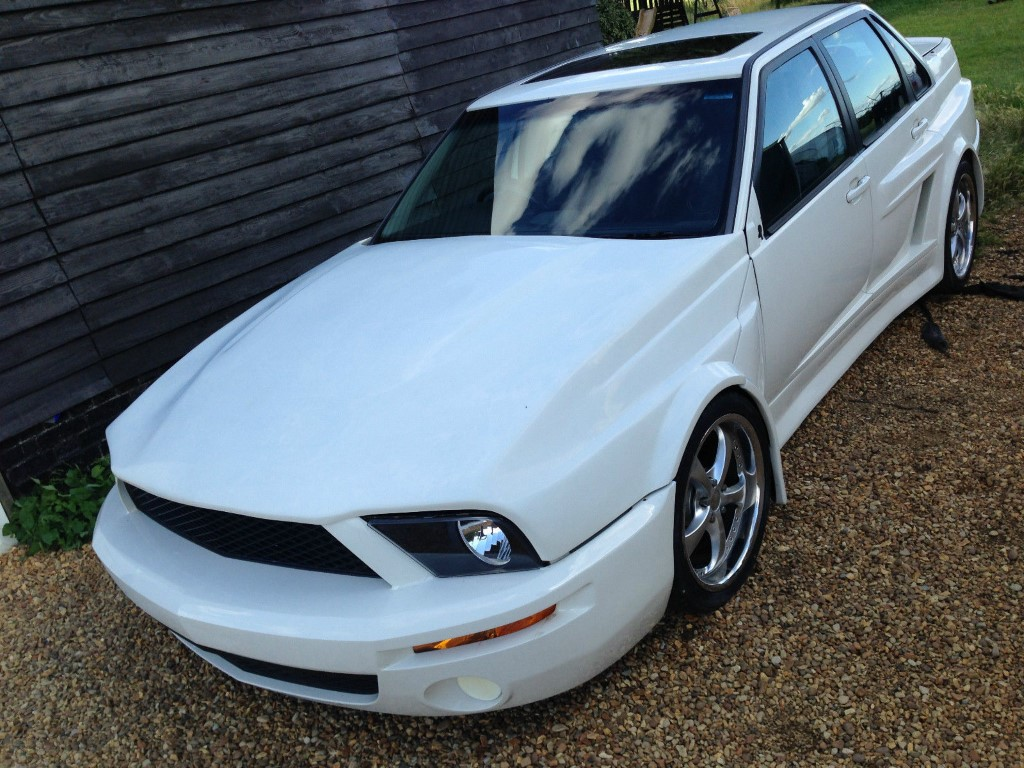 Volvo S70R with a Ford Mustang Face | DPCcars