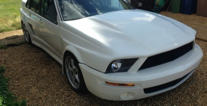 Volvo S70R with a Ford Mustang Face (3)