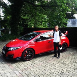 What Is Fernando Alonso Doing With This Honda Civic Type R