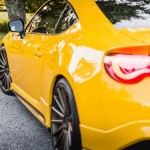 Yellow Scion FR-S with TRD Kit and Bronze Vossen Wheels (12)