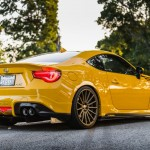 Yellow Scion FR-S with TRD Kit and Bronze Vossen Wheels (14)